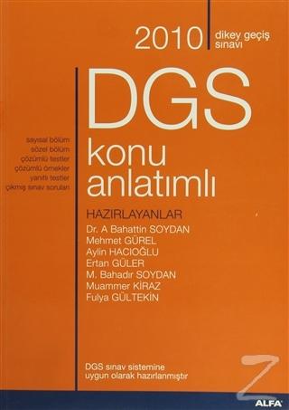 2010 Dikey Geçiş Sınavı DGS Konu Anlatımlı