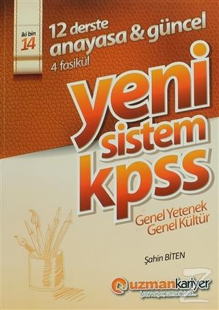 2014 Yeni Sistem KPSS Genel Yetenek Genel Kültür Konu Anlatımlı Modüler Set (6 Kitap)