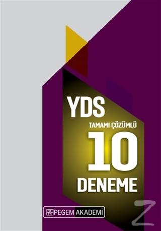 2020 YDS Tamamı Çözümlü 10 Deneme