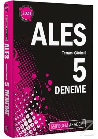 2021 ALES Tamamı Çözümlü 5 Deneme
