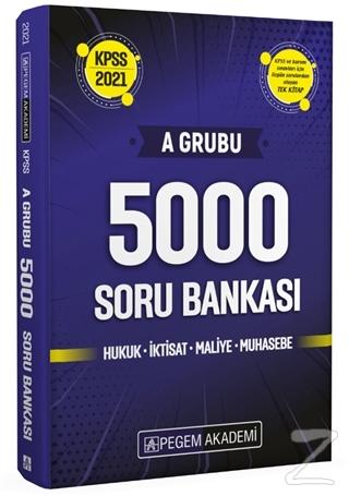 2021 KPSS A Grubu 5000 Soru Bankası