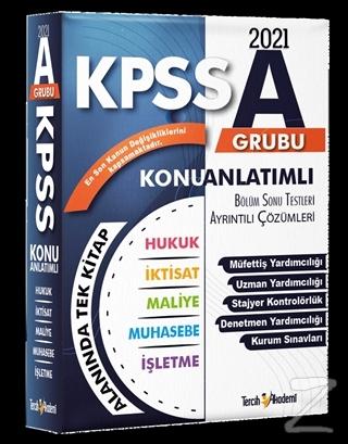 2021 KPSS A Grubu Konu Anlatımlı Soru Bankası