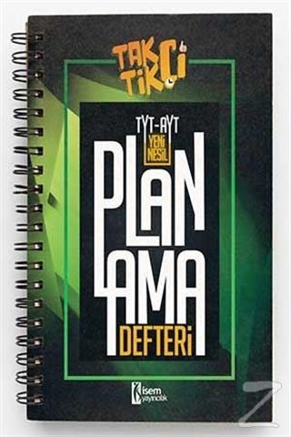 2021 TYT- AYT Taktikçi Yeni Nesil Planlama Defteri