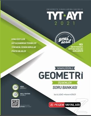 2021 TYT- AYT Tamamı Çözümlü Geometri Üçgenler Soru Bankası