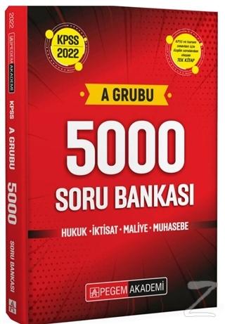 2022 KPSS A Grubu 5000 Soru Bankası