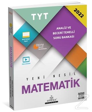 2022 TYT Matematik Analiz ve Beceri Temelli Soru Bankası