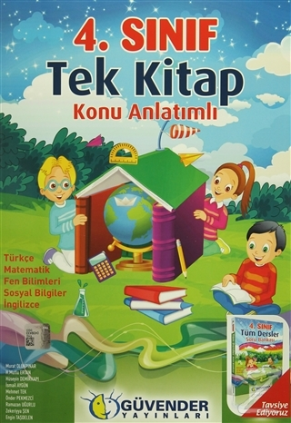 4. Sınıf Tek Kitap Konu Anlatımlı