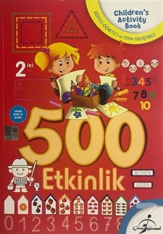 500 Okul Öncesi Aktiviteli Boyama (5 Kitap Takım)