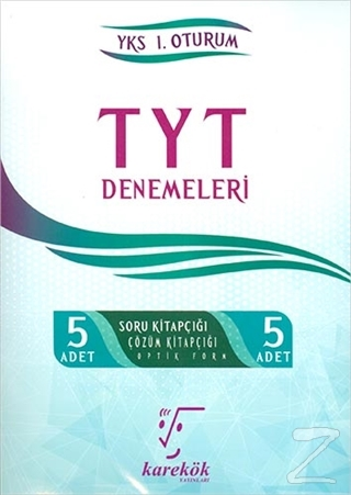 5'li TYT Denemeleri YKS 1. Oturum