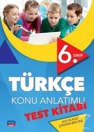 6. Sınıf Türkçe Konu Anlatımlı Test Kitabı