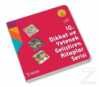 6+ Yaş IQ Dikkat ve yetenek Geliştiren Kitaplar Serisi (Level 1)