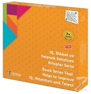 7+ Yaş 9'lu Set - IQ, Dikkat ve Yetenek Geliştiren Kitaplar Serisi