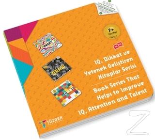 7+ Yaş Seti Level 1 - IQ, Dikkat ve Yetenek Geliştiren Kitaplar Serisi