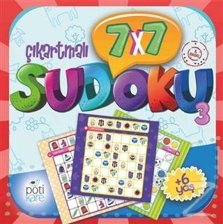 7x7 Çıkartmalı Sudoku (3)