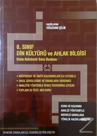 8. Sınıf Din Kültürü ve Ahlak Bilgisi Konu Anlatımlı Soru Bankası