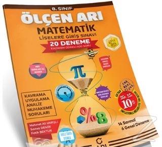 8.Sınıf LGS Matematik Ölçen Arı 20 Lı Deneme 2019