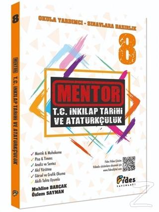 8. Sınıf Mentor T.C. İnkilap Tarihi ve Atatürkçülük Soru Bankası