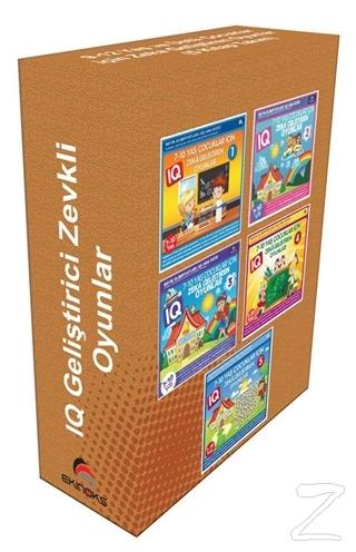 9-12 Yaş ve Üstü Çocuklar İçin Zeka Geliştiren Oyunlar (5 Kitap)