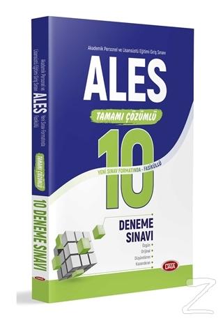 ALES Tamamı Çözümlü Yeni Sınav Formatında Fasiküllü 10 Deneme Sınavı