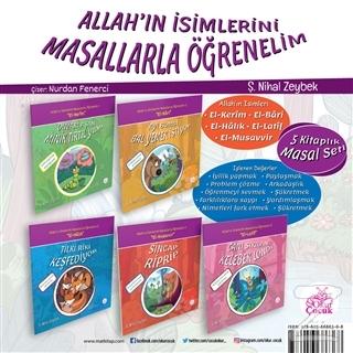 Allah'ın İsimlerini Masallarla Öğrenelim Seti (5 Kitap Takım)