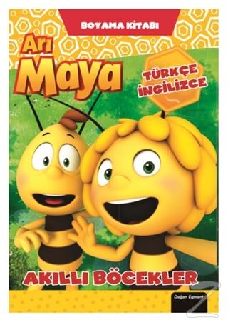 Arı Maya - Akıllı Böcekler Boyama Kitabı Kolektif