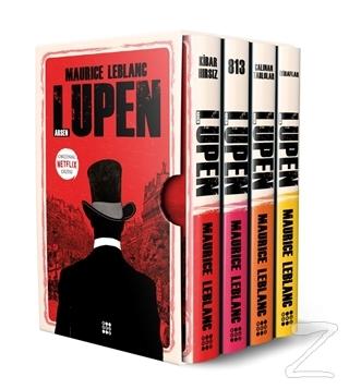 Arsen Lüpen-Kutulu Kırmızı Set (4 Kitap Takım)