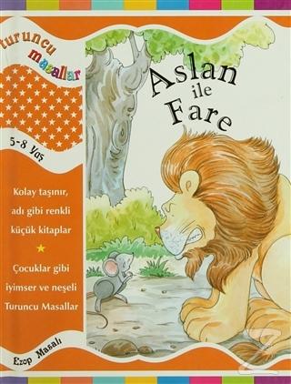 Aslan ile Fare (Ciltli)