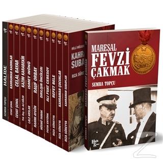 Atatürk ve Milli Mücadele Kütüphanesi Seti - 12 Kitap