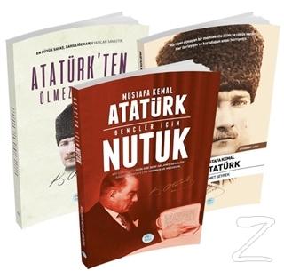 Atatürkten Ölmez Sözler, Gençler İçin Nutuk, Mustafa Kemal Atatürk Biyografi (3 Kitap Takım)