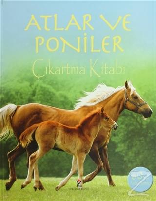 Atlar ve Poniler Çıkartma Kitabı