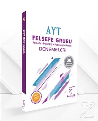 AYT Felsefe Grubu Denemeleri - 30 Çözümlü Deneme Ahmet Sezgin