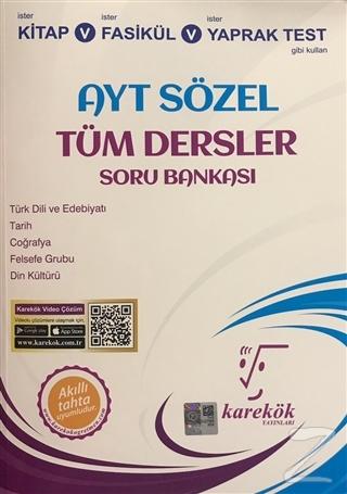 AYT Sözel Tüm Dersler Soru Bankası Hülya Aydemir