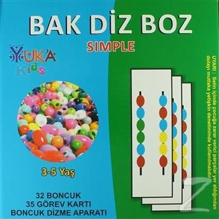 Yuka Bak Diz Boz (3-5 Yaş)
