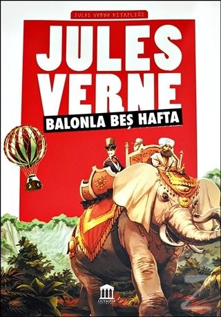 Balonla Beş Hafta - Jules Verne Kitaplığı Jules Verne