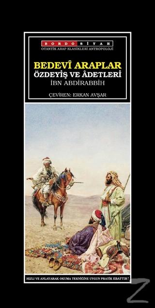 Bedevi Araplar Özdeyiş ve Adetleri