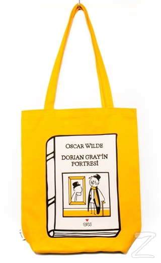 Can Dükkan Bez Çanta (Sarı Gabardin) - Laforizma Serisi - Dorian Gray