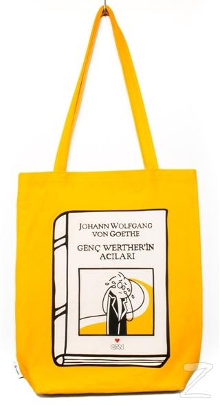 Can Dükkan Bez Çanta (Sarı Gabardin) - Laforizma Serisi - Genç Werther