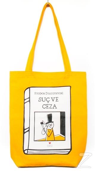 Can Dükkan Bez Çanta (Sarı Gabardin) - Laforizma Serisi – Raskolnikov