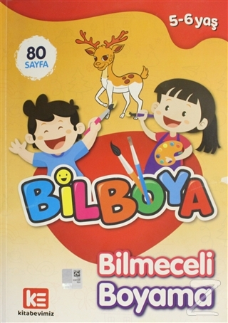 Bilboya - Bilmeceli Boyama Kitabı