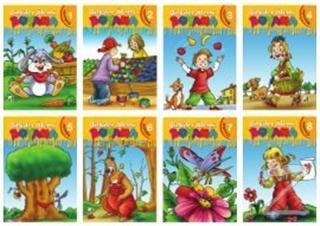Bitkiler Alemi Boyama Serisi (8 Kitap Takım)