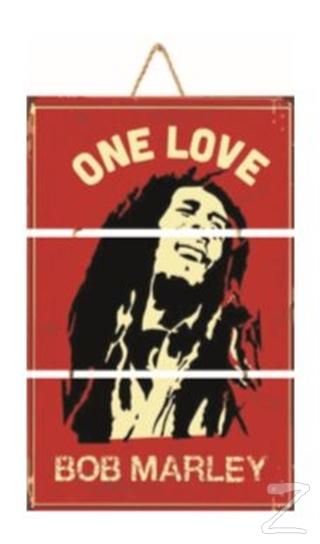 Bob Marley Üçlü Poster 1