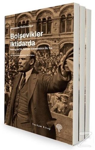 Bolşevik Devrimi Seti (3 Kitap Takım) %34 indirimli Alexander Rabinowi