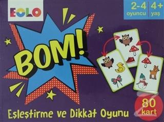 Bom! - Eşleştirme ve Dikkat Oyunu (80 Kart)