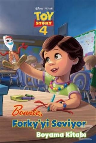 Bonnie Forky'yi Seviyor Boyama Kitabı Kollektif