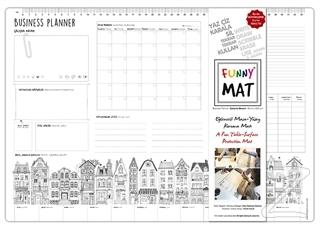 Çalışma Masam Business Planer - Funny Mat