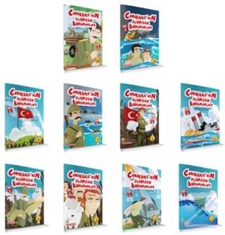 Çanakkale'nin Ölümsüz Kahramanları (10 Kitap Set)