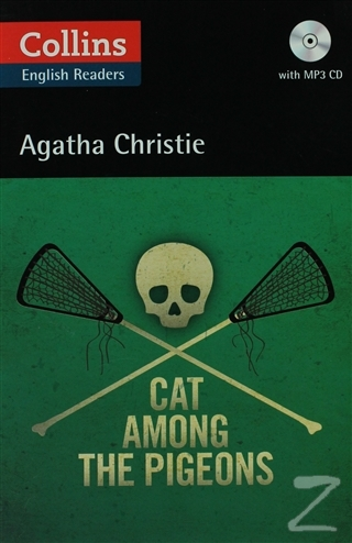 Cat Among the Pigeons + CD (Agatha Christie Readers)