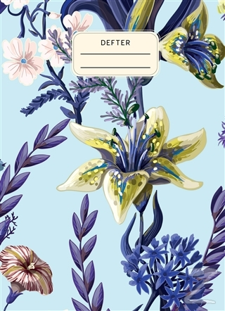 Çiçekli Defter (Ciltli)
