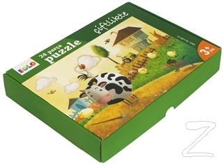 Eolo Çiftlikte - 24 Parça Yer Puzzle