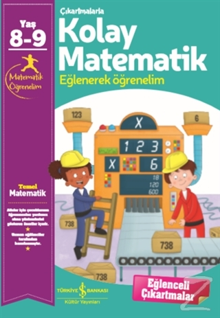 Çıkartmalarla Kolay Matematik (8-9 Yaş) Kolektif
